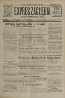 Expres Zagłębia : jedyny organ demokratyczny niezależny woj. kieleckiego. R.6, nr 216 (10 sierpnia 1931)