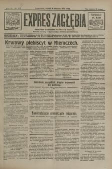 Expres Zagłębia : jedyny organ demokratyczny niezależny woj. kieleckiego. R.6, nr 217 (11 sierpnia 1931)