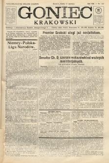 Goniec Krakowski. 1925, nr137