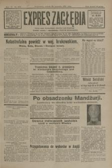 Expres Zagłębia : jedyny organ demokratyczny niezależny woj. kieleckiego. R.6, nr 262 (26 września 1931)