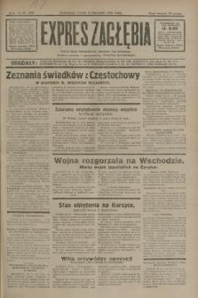 Expres Zagłębia : jedyny organ demokratyczny niezależny woj. kieleckiego. R.6, nr 308 (11 listopada 1931)