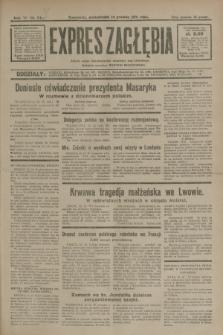 Expres Zagłębia : jedyny organ demokratyczny niezależny woj. kieleckiego. R.6, nr 341 (14 grudnia 1931)