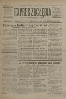 Expres Zagłębia : jedyny organ demokratyczny niezależny woj. kieleckiego. R.7, nr 4 (4 stycznia 1932)