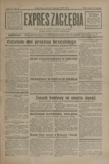 Expres Zagłębia : jedyny organ demokratyczny niezależny woj. kieleckiego. R.7, nr 8 (9 stycznia 1932)