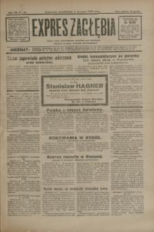 Expres Zagłębia : jedyny organ demokratyczny niezależny woj. kieleckiego. R.7, nr 10 (11 stycznia 1932)