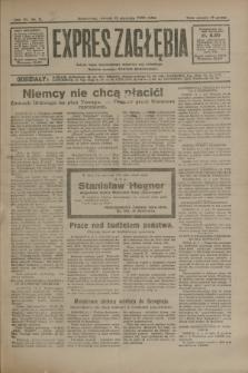 Expres Zagłębia : jedyny organ demokratyczny niezależny woj. kieleckiego. R.7, nr 11 (12 stycznia 1932)
