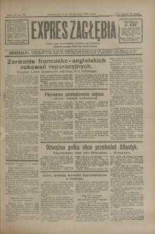 Expres Zagłębia : jedyny organ demokratyczny niezależny woj. kieleckiego. R.7, nr 12 (13 stycznia 1932)