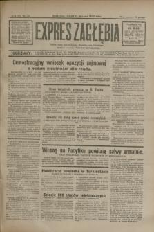Expres Zagłębia : jedyny organ demokratyczny niezależny woj. kieleckiego. R.7, nr 15 (16 stycznia 1932)