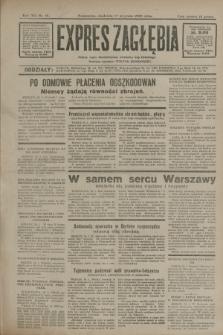 Expres Zagłębia : jedyny organ demokratyczny niezależny woj. kieleckiego. R.7, nr 16 (17 stycznia 1932)