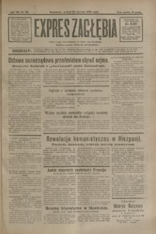 Expres Zagłębia : jedyny organ demokratyczny niezależny woj. kieleckiego. R.7, nr 22 (23 stycznia 1932)