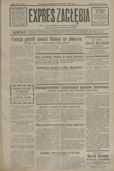 Expres Zagłębia : jedyny organ demokratyczny niezależny woj. kieleckiego. R.7, nr 23 (24 stycznia 1932)