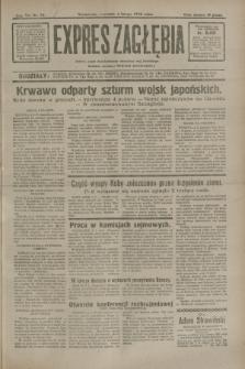 Expres Zagłębia : jedyny organ demokratyczny niezależny woj. kieleckiego. R.7, nr 34 (4 lutego 1932)