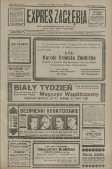 Expres Zagłębia : jedyny organ demokratyczny niezależny woj. kieleckiego. R.7, nr 37 (7 lutego 1932)