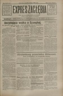 Expres Zagłębia : jedyny organ demokratyczny niezależny woj. kieleckiego. R.7, nr 41 (11 lutego 1932)