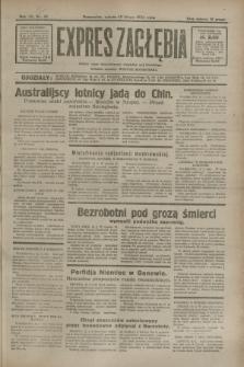 Expres Zagłębia : jedyny organ demokratyczny niezależny woj. kieleckiego. R.7, nr 43 (13 lutego 1932)