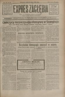 Expres Zagłębia : jedyny organ demokratyczny niezależny woj. kieleckiego. R.7, nr 54 (24 lutego 1932)
