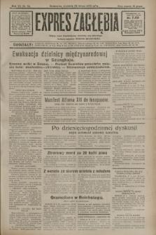 Expres Zagłębia : jedyny organ demokratyczny niezależny woj. kieleckiego. R.7, nr 58 (28 lutego 1932)