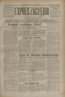Expres Zagłębia : jedyny organ demokratyczny niezależny woj. kieleckiego. R.7, nr 67 (8 marca 1932)