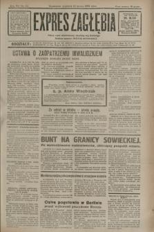 Expres Zagłębia : jedyny organ demokratyczny niezależny woj. kieleckiego. R.7, nr 72 (13 marca 1932)