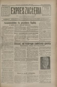 Expres Zagłębia : jedyny organ demokratyczny niezależny woj. kieleckiego. R.7, nr 74 (15 marca 1932)