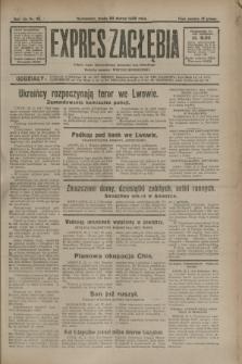 Expres Zagłębia : jedyny organ demokratyczny niezależny woj. kieleckiego. R.7, nr 82 (23 marca 1932)