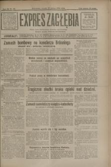 Expres Zagłębia : jedyny organ demokratyczny niezależny woj. kieleckiego. R.7, nr 86 (29 marca 1932)