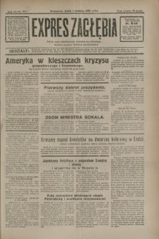 Expres Zagłębia : jedyny organ demokratyczny niezależny woj. kieleckiego. R.7, nr 89 (1 kwietnia 1932)