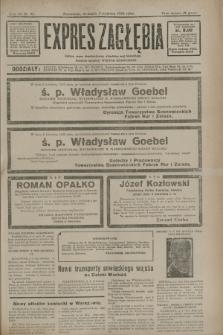 Expres Zagłębia : jedyny organ demokratyczny niezależny woj. kieleckiego. R.7, nr 91 (3 kwietnia 1932)