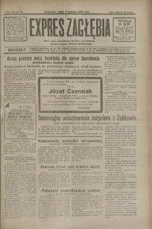 Expres Zagłębia : jedyny organ demokratyczny niezależny woj. kieleckiego. R.7, nr 96 (8 kwietnia 1932)
