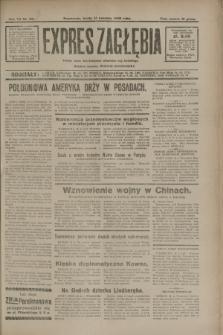 Expres Zagłębia : jedyny organ demokratyczny niezależny woj. kieleckiego. R.7, nr 101 (13 kwietnia 1932)