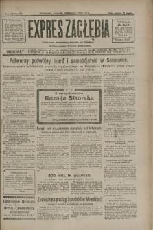 Expres Zagłębia : jedyny organ demokratyczny niezależny woj. kieleckiego. R.7, nr 102 (14 kwietnia 1932)