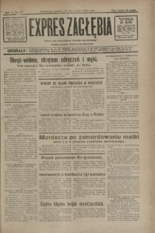 Expres Zagłębia : jedyny organ demokratyczny niezależny woj. kieleckiego. R.7, nr 113 (25 kwietnia 1932)
