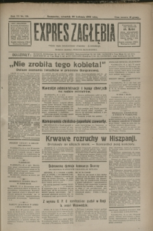 Expres Zagłębia : jedyny organ demokratyczny niezależny woj. kieleckiego. R.7, nr 116 (28 kwietnia 1932)