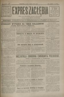 Expres Zagłębia : jedyny organ demokratyczny niezależny woj. kieleckiego. R.7, nr 122 (4 maja 1932)
