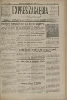 Expres Zagłębia : jedyny organ demokratyczny niezależny woj. kieleckiego. R.7, nr 130 (12 maja 1932)