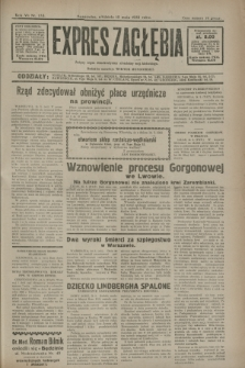 Expres Zagłębia : jedyny organ demokratyczny niezależny woj. kieleckiego. R.7, nr 133 (15 maja 1932)