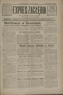 Expres Zagłębia : jedyny organ demokratyczny niezależny woj. kieleckiego. R.7, nr 135 (18 maja 1932)