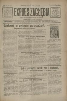 Expres Zagłębia : jedyny organ demokratyczny niezależny woj. kieleckiego. R.7, nr 142 (25 maja 1932)