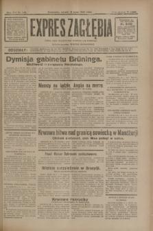 Expres Zagłębia : jedyny organ demokratyczny niezależny woj. kieleckiego. R.7, nr 148 (31 maja 1932)