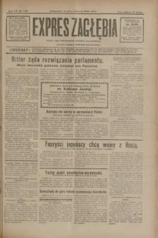 Expres Zagłębia : jedyny organ demokratyczny niezależny woj. kieleckiego. R.7, nr 149 (1 czerwca 1932)