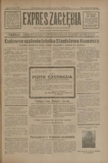 Expres Zagłębia : jedyny organ demokratyczny niezależny woj. kieleckiego. R.7, nr 161 (15 czerwca 1932)