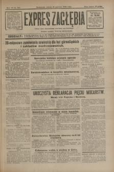 Expres Zagłębia : jedyny organ demokratyczny niezależny woj. kieleckiego. R.7, nr 166 (18 czerwca 1932)