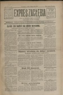 Expres Zagłębia : jedyny organ demokratyczny niezależny woj. kieleckiego. R.7, nr 187 (9 lipca 1932)