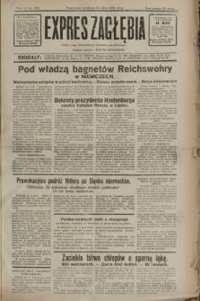 Expres Zagłębia : jedyny organ demokratyczny niezależny woj. kieleckiego. R.7, nr 202 (24 lipca 1932)