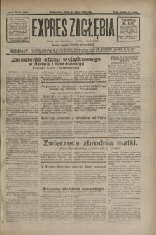 Expres Zagłębia : jedyny organ demokratyczny niezależny woj. kieleckiego. R.7, nr 205 (27 lipca 1932)