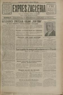 Expres Zagłębia : jedyny organ demokratyczny niezależny woj. kieleckiego. R.7, nr 213 (4 sierpnia 1932)