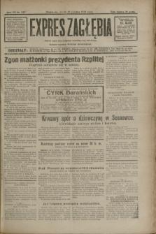 Expres Zagłębia : jedyny organ demokratyczny niezależny woj. kieleckiego. R.7, nr 227 (19 sierpnia 1932)