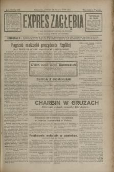 Expres Zagłębia : jedyny organ demokratyczny niezależny woj. kieleckiego. R.7, nr 229 (21 sierpnia 1932)