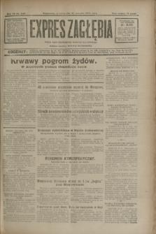 Expres Zagłębia : jedyny organ demokratyczny niezależny woj. kieleckiego. R.7, nr 230 (22 sierpnia 1932)
