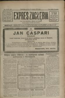 Expres Zagłębia : jedyny organ demokratyczny niezależny woj. kieleckiego. R.7, nr 235 (27 sierpnia 1932)